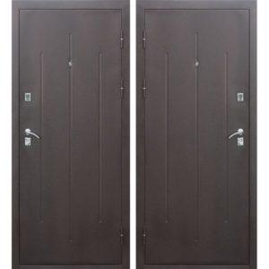 Входная дверь Стройгост 7-2 (металл/металл)
