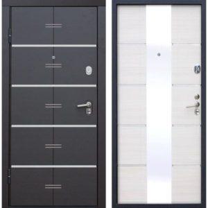 Входная дверь Alta Tech (венге, белый ясень)