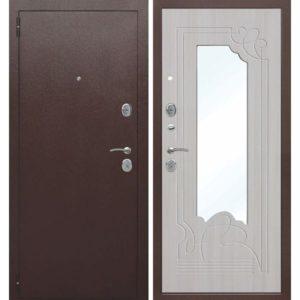 Входная дверь Ампир (белый ясень)