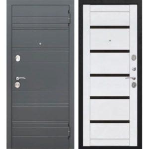 Входная дверь Чарлстон (10,5 см, белый глянец, царга)