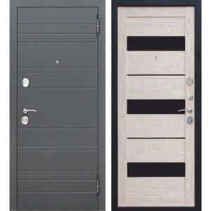 Входная дверь Чарлстон (10,5 см, глянец мокко, царга)