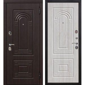 Входная дверь Флоренция (винорит, белёный дуб)