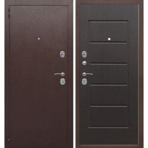 Входная дверь Гарда (7,5 см, медный антик, венге)