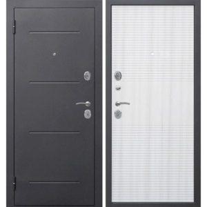 Входная дверь Гарда (7,5 см, муар, белый ясень)