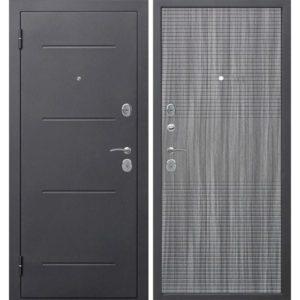 Входная дверь Гарда (7,5 см, муар, венге тобакко)