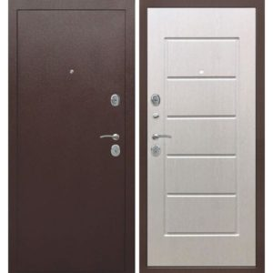 Входная дверь Гарда (7,5 см, внутреннее открывание, белый ясень)