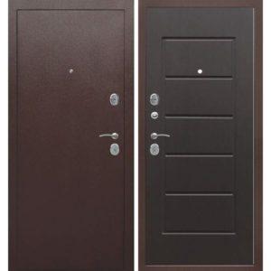 Входная дверь Гарда (7,5 см, внутреннее открывание, венге)