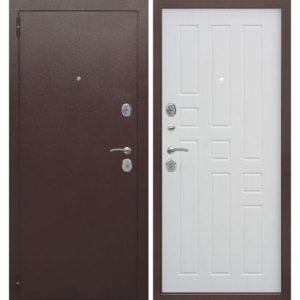 Входная дверь Гарда (8 мм, белый ясень)