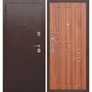 Входная дверь Гарда (8 мм, рустикальный дуб)