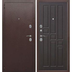 Входная дверь Гарда (8 мм, венге)