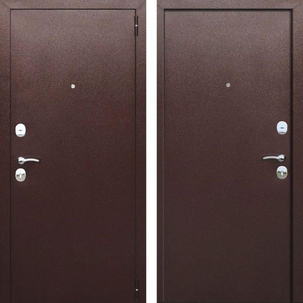 Входная дверь Гарда (металл/металл)