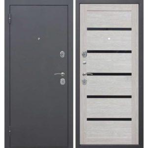 Входная дверь Гарда (муар, лиственница мокко, царга)