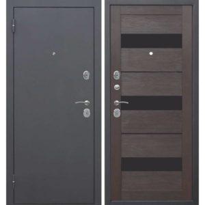 Входная дверь Гарда (муар, тёмный кипарис, царга)