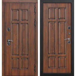 Входная дверь Isoterma (13 см, грецкий орех)