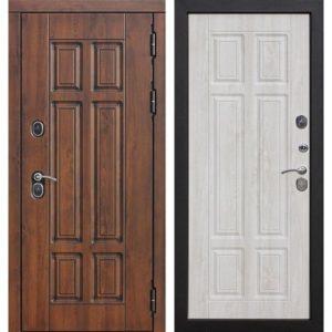 Входная дверь Isoterma (13 см, грецкий орех, сосна белая)