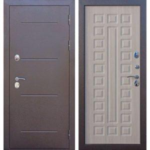 Входная дверь Isoterma (медный антик, лиственница мокко)