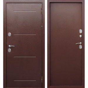 Входная дверь Isoterma (медный антик, металл/металл)