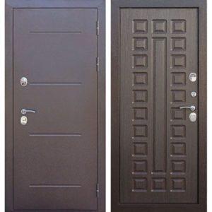 Входная дверь Isoterma (медный антик, венге)