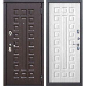 Входная дверь Монарх (10 см, белый ясень)