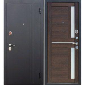 Входная дверь Нью-Йорк (каштан мускат, царга)