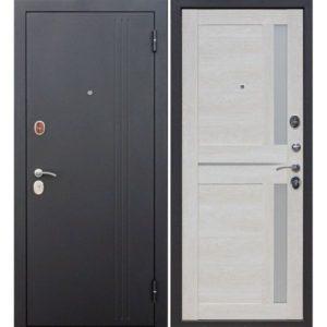 Входная дверь Нью-Йорк (каштан перламутр, царга)