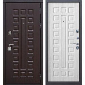 Входная дверь Сенатор (12 см, белый ясень)