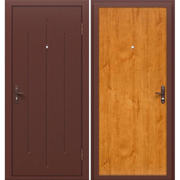 Входная дверь Стройгост 5-1 (золотистый дуб)