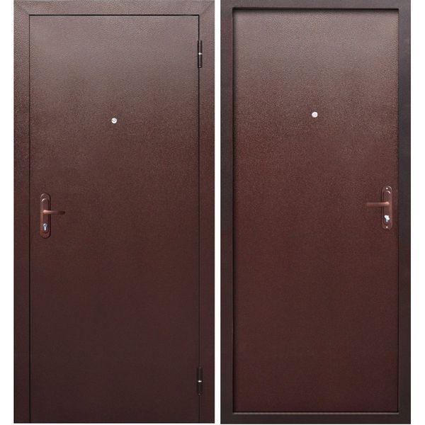 Входная дверь Стройгост 5 (металл/металл)