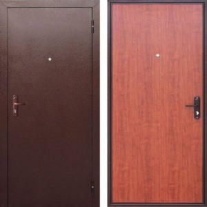 Входная дверь Стройгост 5 (рустикальный дуб)
