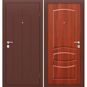 Входная дверь Стройгост 7-1 mini (итальянский орех)