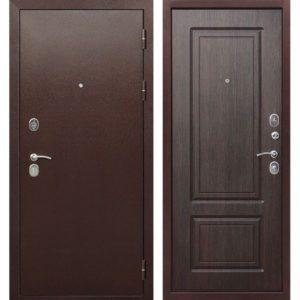 Входная дверь Толстяк (10,5 см, медный антик, венге)