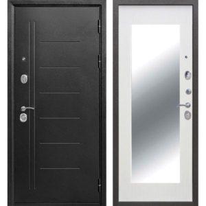 Входная дверь Троя (maxi, серебро, белый ясень)