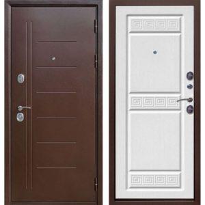 Входная дверь Троя (медный антик, белый ясень)