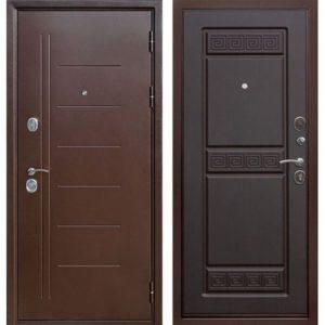 Входная дверь Троя (медный антик, венге)