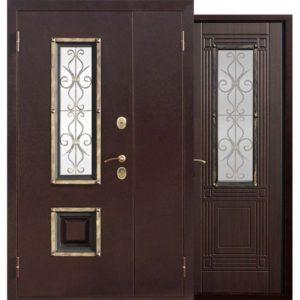 Входная дверь Венеция (венге, 1200х2050 мм)