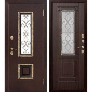 Входная дверь Венеция (венге)