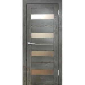 Межкомнатная дверь Бавария 02 3D-Люкс (дуб эдисон серый)