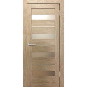 Межкомнатная дверь Бавария 02 3D-Люкс (ясень сонома)