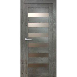 Межкомнатная дверь Бавария 03 3D-Люкс (дуб эдисон серый)