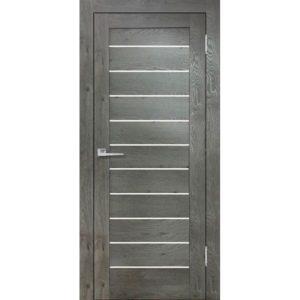 Межкомнатная дверь Бавария 04 3D-Люкс (дуб эдисон серый)