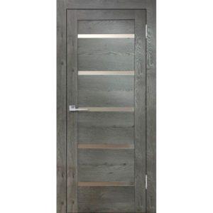 Межкомнатная дверь Бавария 15 3D-Люкс (дуб эдисон серый)