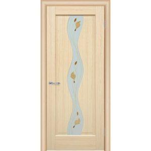 Межкомнатная дверь Schlager Elegance Хилда A1 (акация, остеклённая)