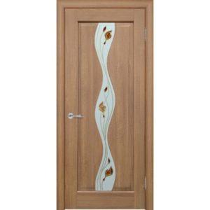 Межкомнатная дверь Schlager Elegance Хилда B1 (берёза, остеклённая)