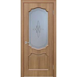 Межкомнатная дверь Schlager Elegance Риана B1 (берёза, остеклённая)