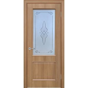 Межкомнатная дверь Schlager Elegance Вилора B1 (берёза, остеклённая)
