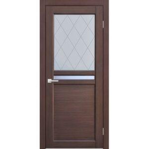 Межкомнатная дверь Schlager HiTech 1.12 (орех)