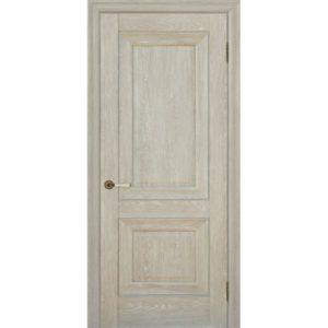 Межкомнатная дверь Schlager Provence Паскаль 2 (дуб седой, глухая)