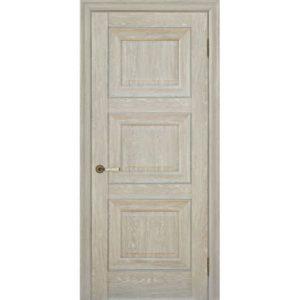 Межкомнатная дверь Schlager Provence Паскаль 3 (дуб седой, глухая)