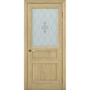 Межкомнатная дверь Schlager Provence Валери (дуб натуральный, остекленная)