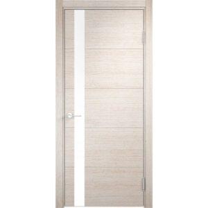 Межкомнатная дверь Турин 03 (дуб бежевый вералинга)